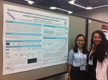 (July 2015) Karen & Hyun Soo presented at IAFP